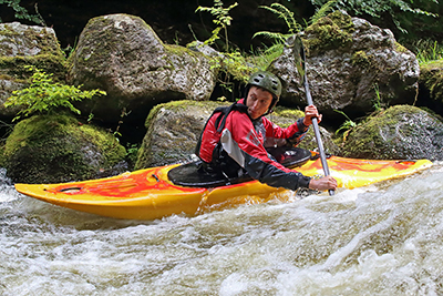 Watersports Photography, Kayaking at National White Water Centre