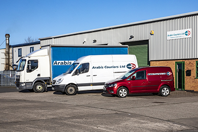 Shot for Arabis Couriers