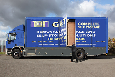 G & T Complete Self Storage, Swansea