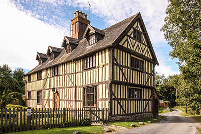 Photograph of Tudor Manor House, Taken for letting agents