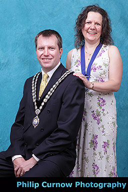 Photographed for newly elected Mayor & Mayoress