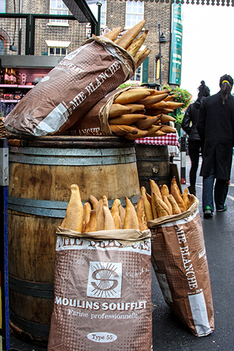 Food Stall in London (Borough) Market