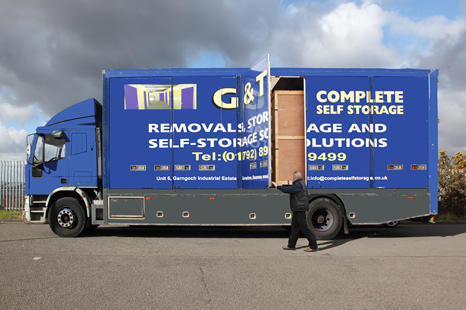 G & T Complete Self Storage, Swansea.