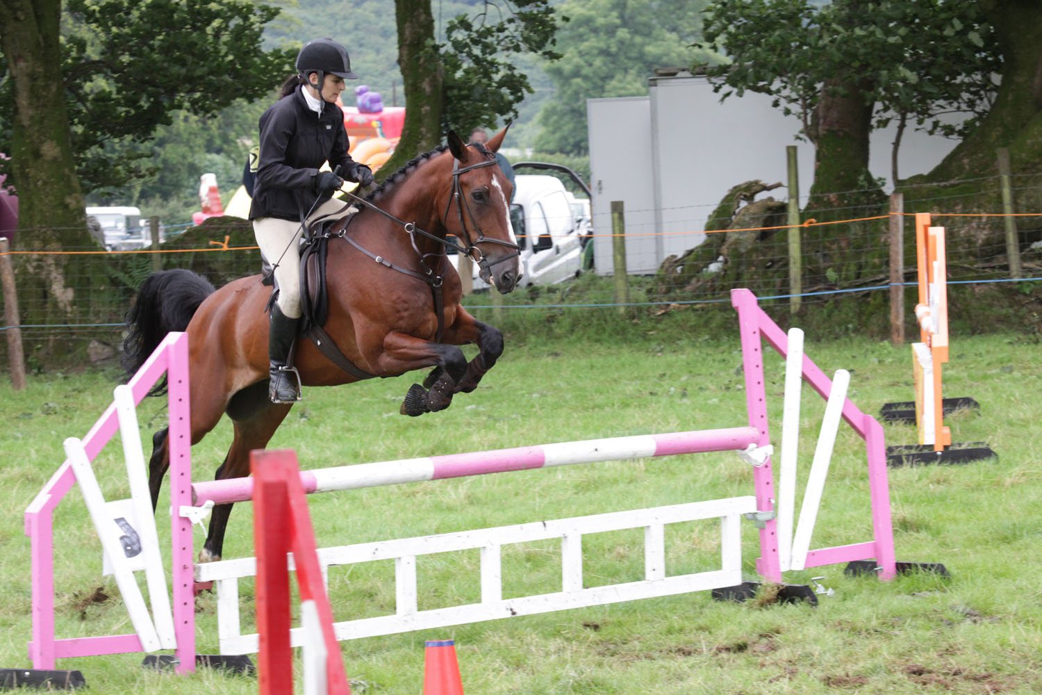 Show Jumping at Merthyr Hunt Show